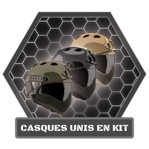 FRCASQUES UNIS EN KIT